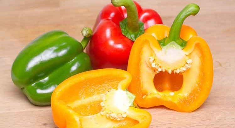 Gevulde Paprika Vegetarisch