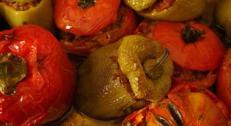 Turkse Gevulde Paprika