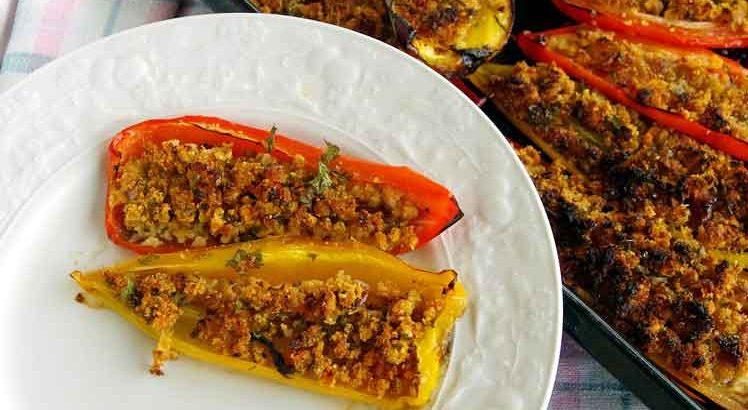 Gevulde Paprika uit de Oven